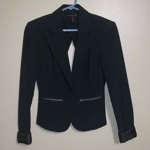 Cut out back blazer